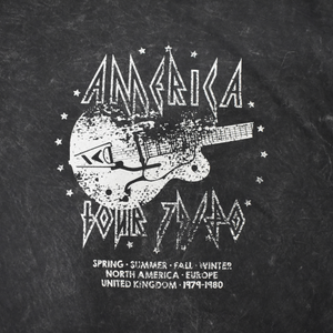 America Tour Tee - Love and Neutrals