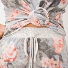 Load image into Gallery viewer, Blooming Floral Loungewear Set - Love and Neutrals