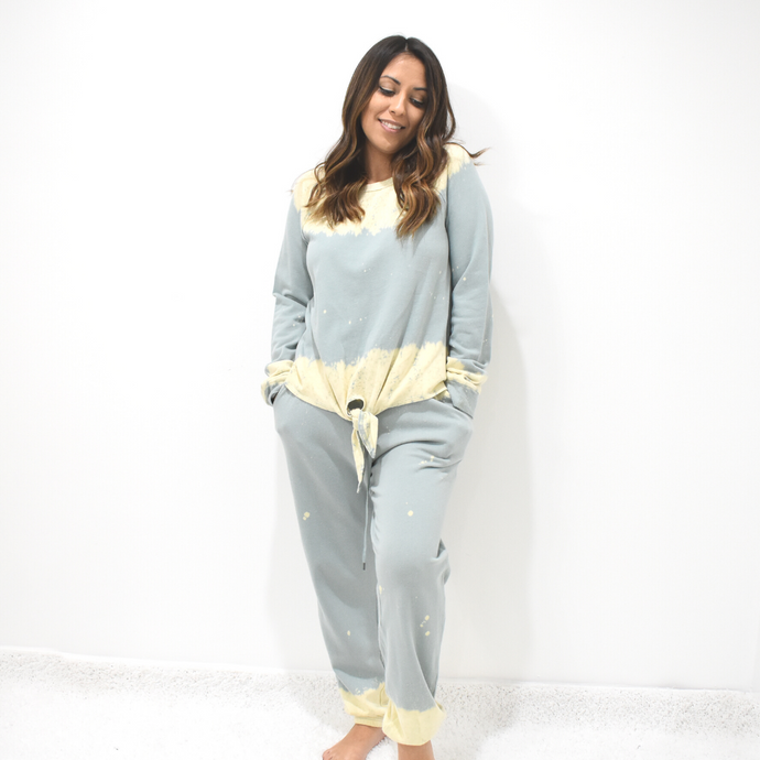 Head In The Clouds Joggers - Love and Neutrals