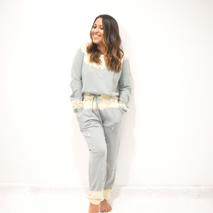 Head In The Clouds Joggers - Love and Neutrals - Boutique