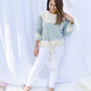 Head In The Clouds Sweatshirt - Love and Neutrals