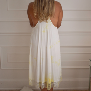 Lemon Lace Dress - Love and Neutrals
