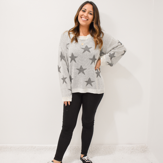Midnight Sky Sweater - Love and Neutrals - Boutique