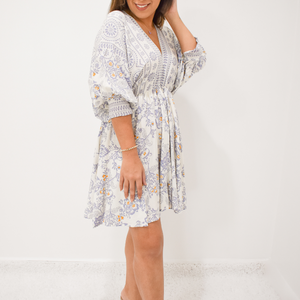 Perfectly Paisley Dress - Love and Neutrals - Boutique