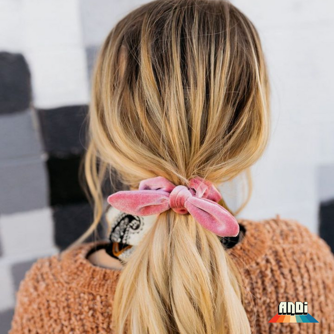 Pink Scrunchies of Hope - Love and Neutrals
