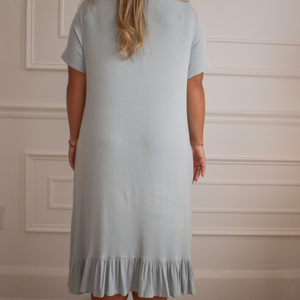 Summer Waves Blue Dress - Love and Neutrals - Boutique