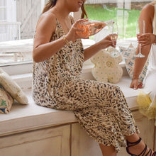 Load image into Gallery viewer, Abigail Walkabout Leopard Jumpsuit - Love and Neutrals - Boutique