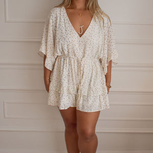 Shoot for the Stars Romper - Love and Neutrals - Boutique