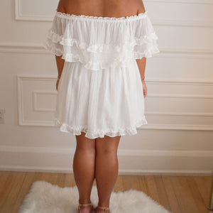 Briar Rose White Dress - Love and Neutrals - Boutique