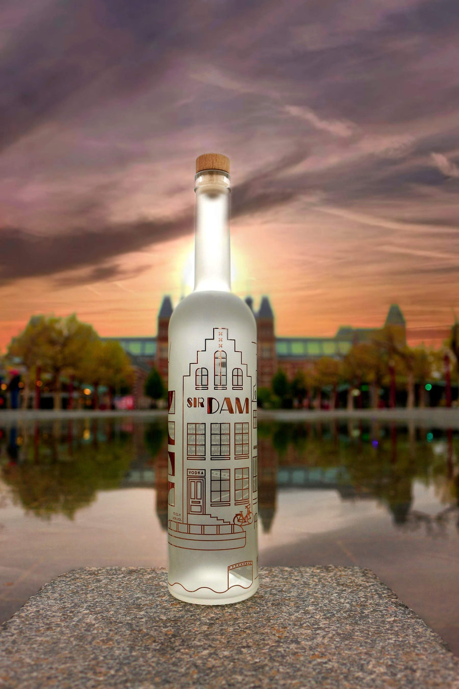 Sir Dam Premium Vodka 0,7L - Amsterdam Vodka | Official Sir Dam webshop