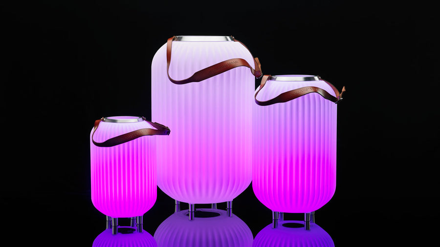 The Lampion L | Bluetooth Led Speaker - Amsterdam Vodka | Official Sir Dam webshop