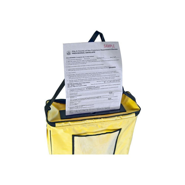 Self-Standing Ballot Bag by Tutto
