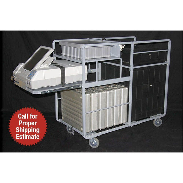 Storage Cart for AutoMARK® and M100® Voting Machines