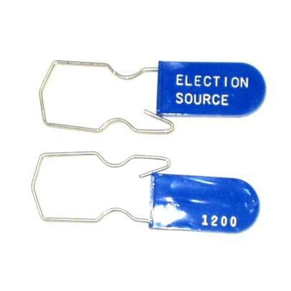 Blue Wire Hasp Padlock Seal - Scored SE-51
