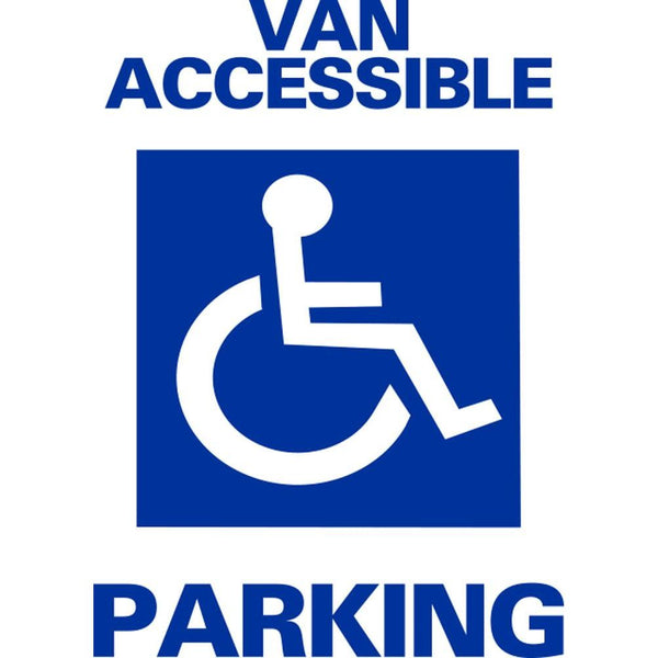 Van Accessible Parking SG-102A