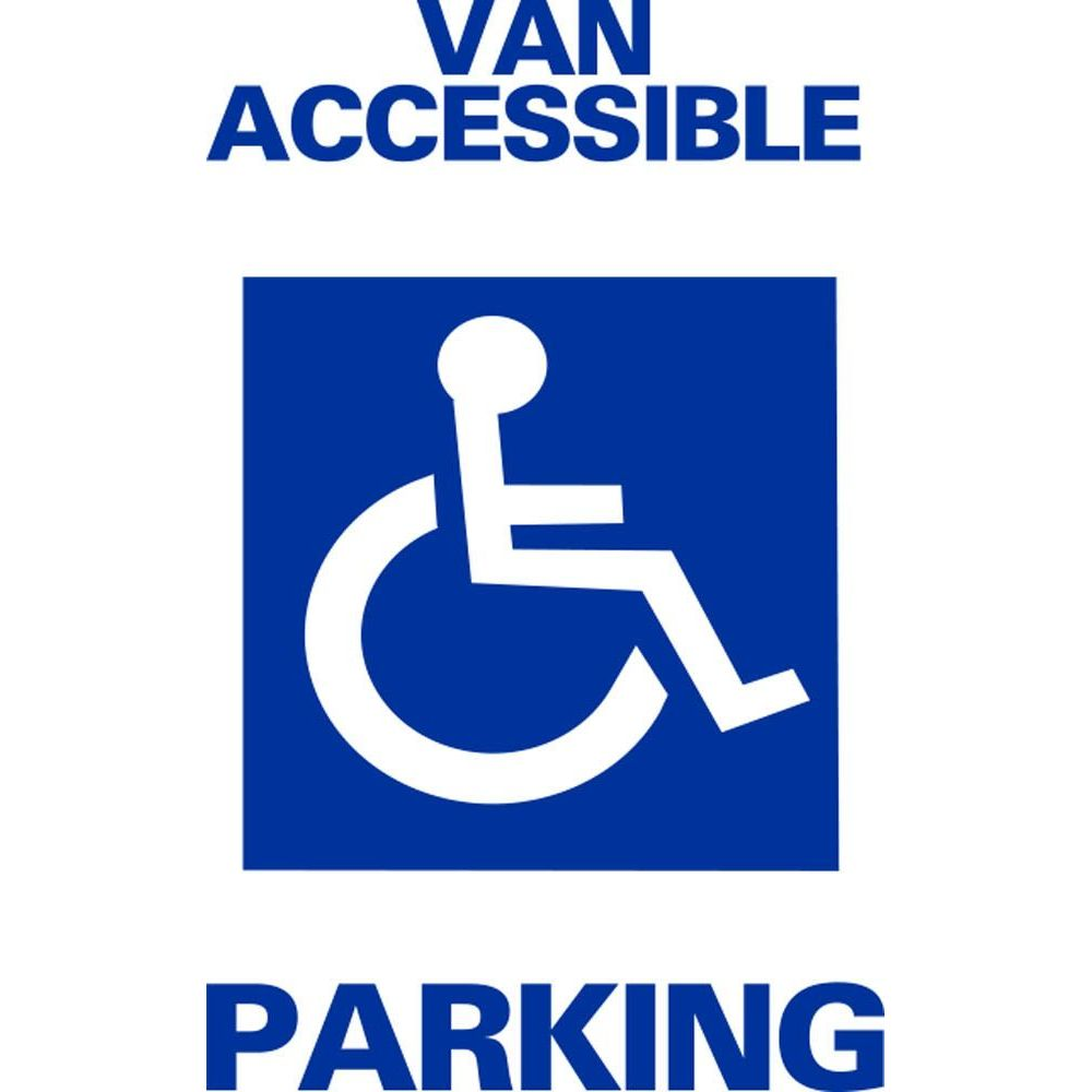 Van Accessible Parking SG-102E