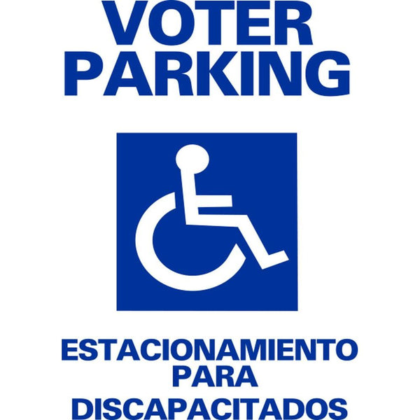 VOTER PARKING ESTACIONAMIENTO PARA DISCAPACITADOS SG-108A