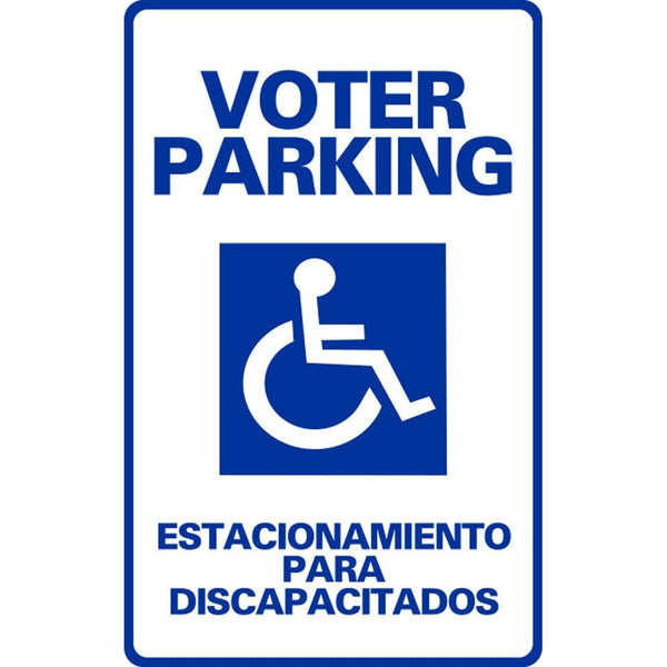 VOTER PARKING ESTACIONAMIENTO PARA DISCAPACITADOS SG-108F