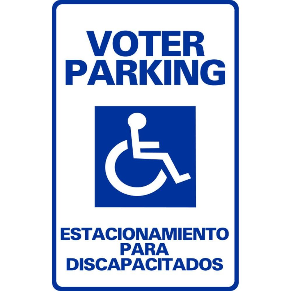 VOTER PARKING ESTACIONAMIENTO PARA DISCAPACITADOS SG-108H