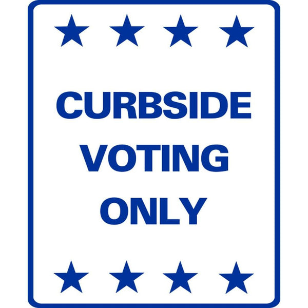 Curbside Voting Only SG-207C