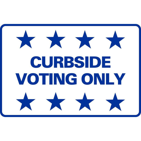 Curbside Voting Only SG-207D