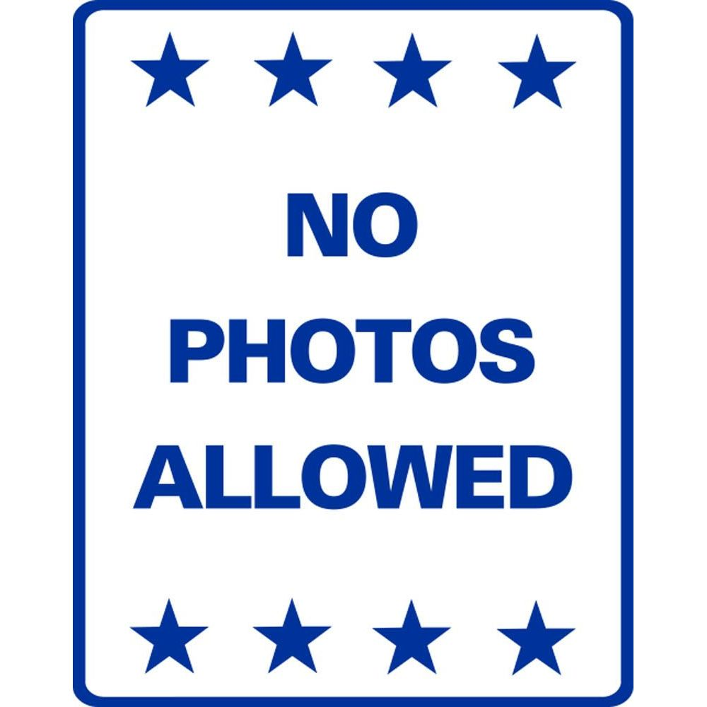 NO PHOTOS ALLOWED SG-221J