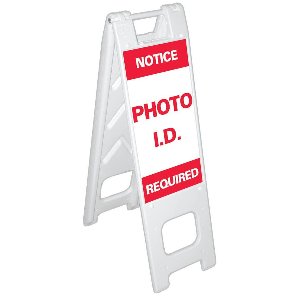 NOTICE PHOTO I.D. REQUIRED SG-301E