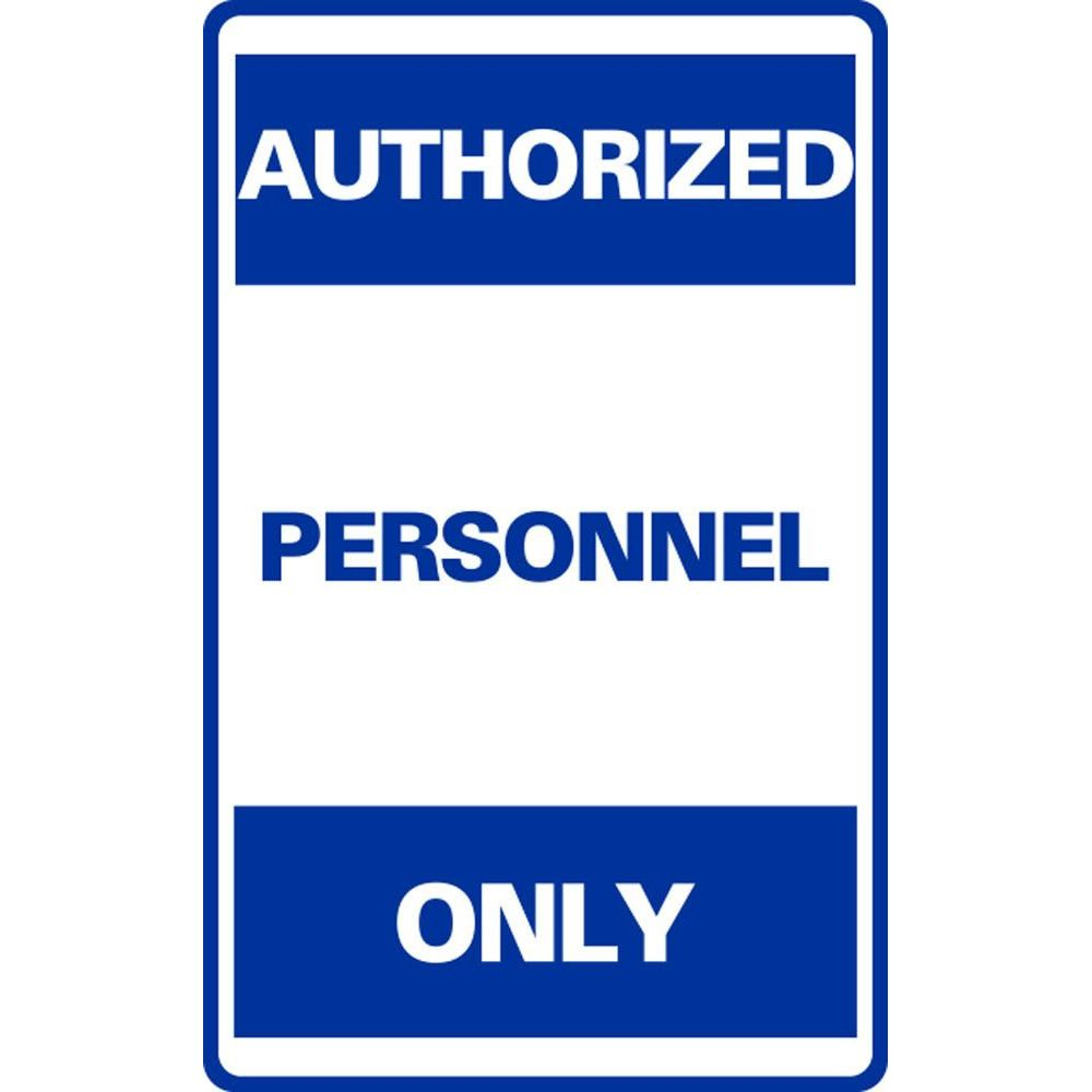 AUTHORIZED PERSONNEL ONLY  SG-302F