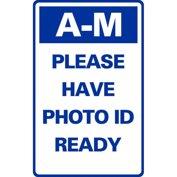 A-M PLEASE HAVE PHOTO ID READY SG-316F