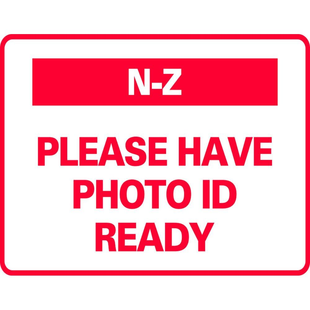 N-Z PLEASE HAVE PHOTO ID READY SG-317G