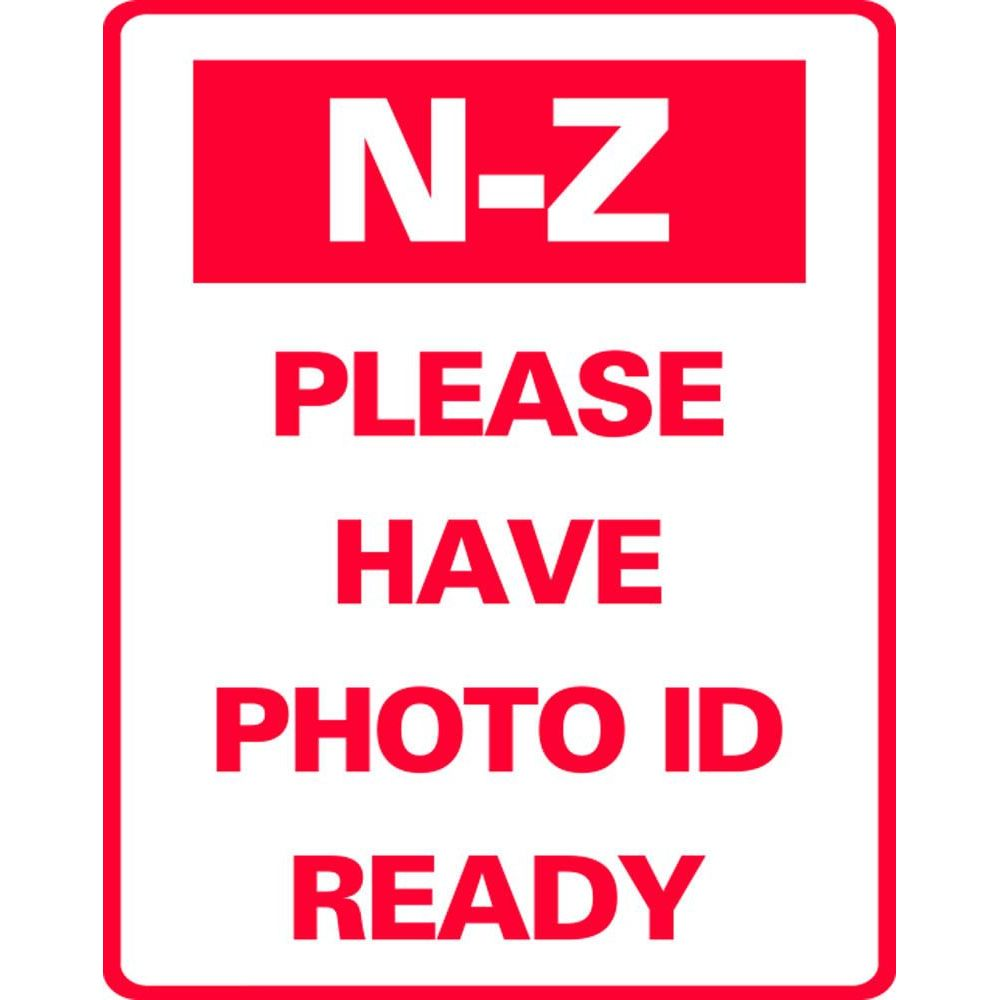 N-Z PLEASE HAVE PHOTO ID READY SG-317JS