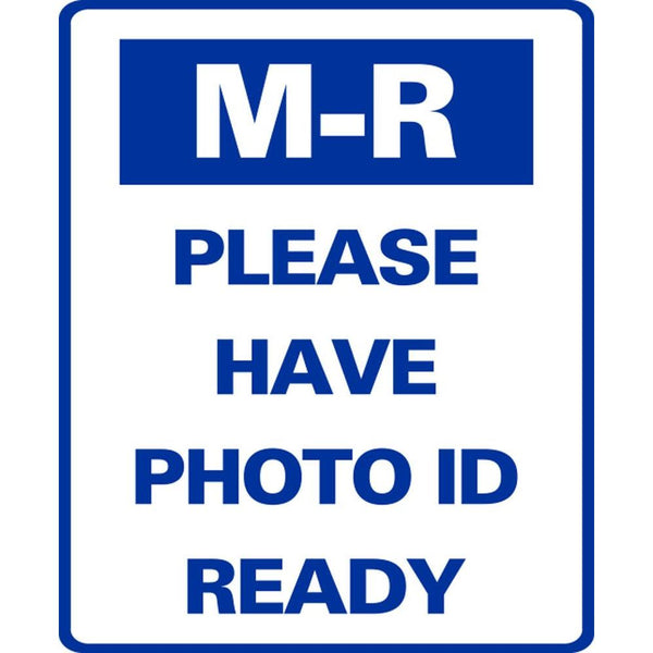 M-R PLEASE HAVE PHOTO ID READY SG-320C
