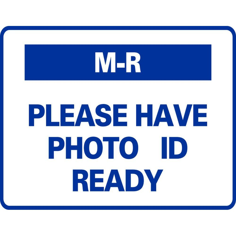 M-R PLEASE HAVE PHOTO ID READY SG-320G