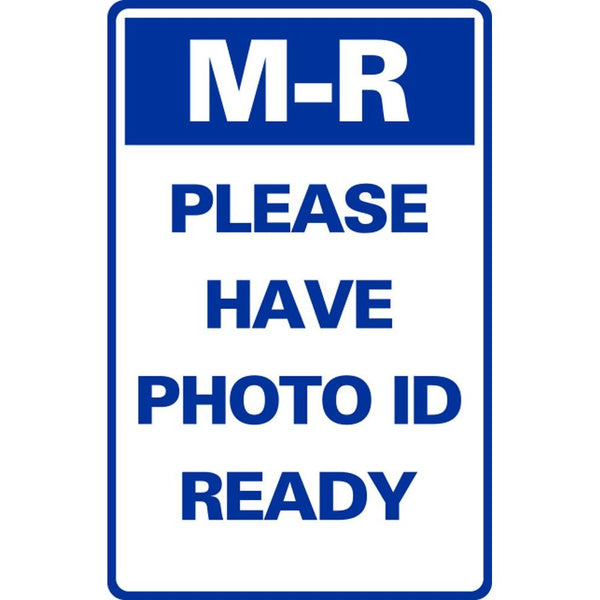 M-R PLEASE HAVE PHOTO ID READY SG-320H
