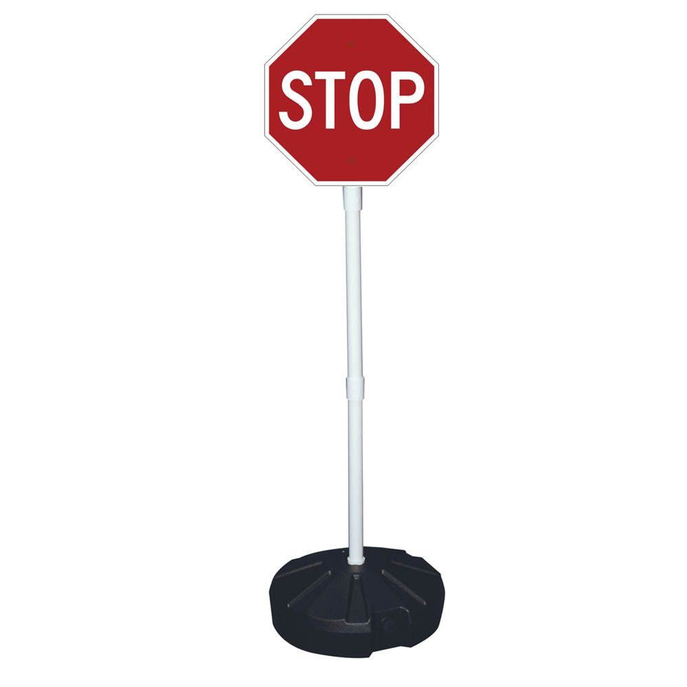 Stop Sign with Base