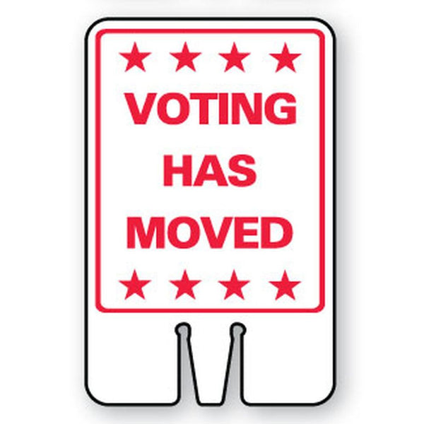Voting Has Moved SG-206I1