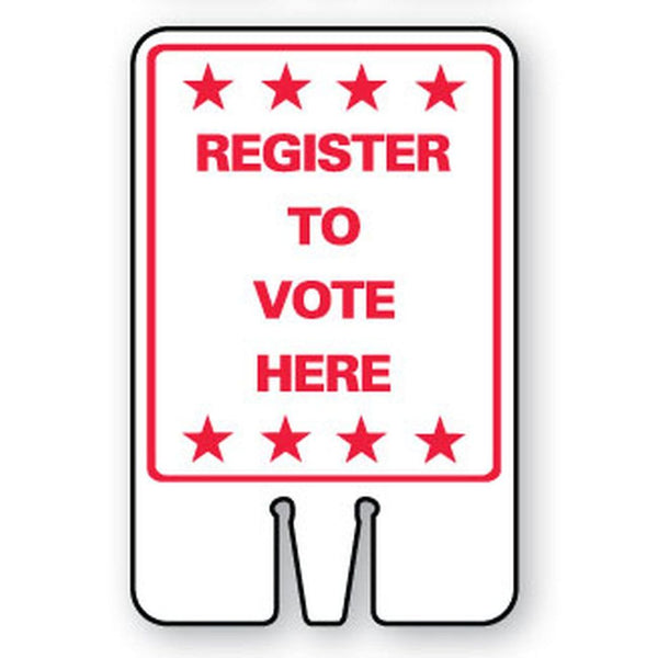 Register to Vote Here SG-211I1