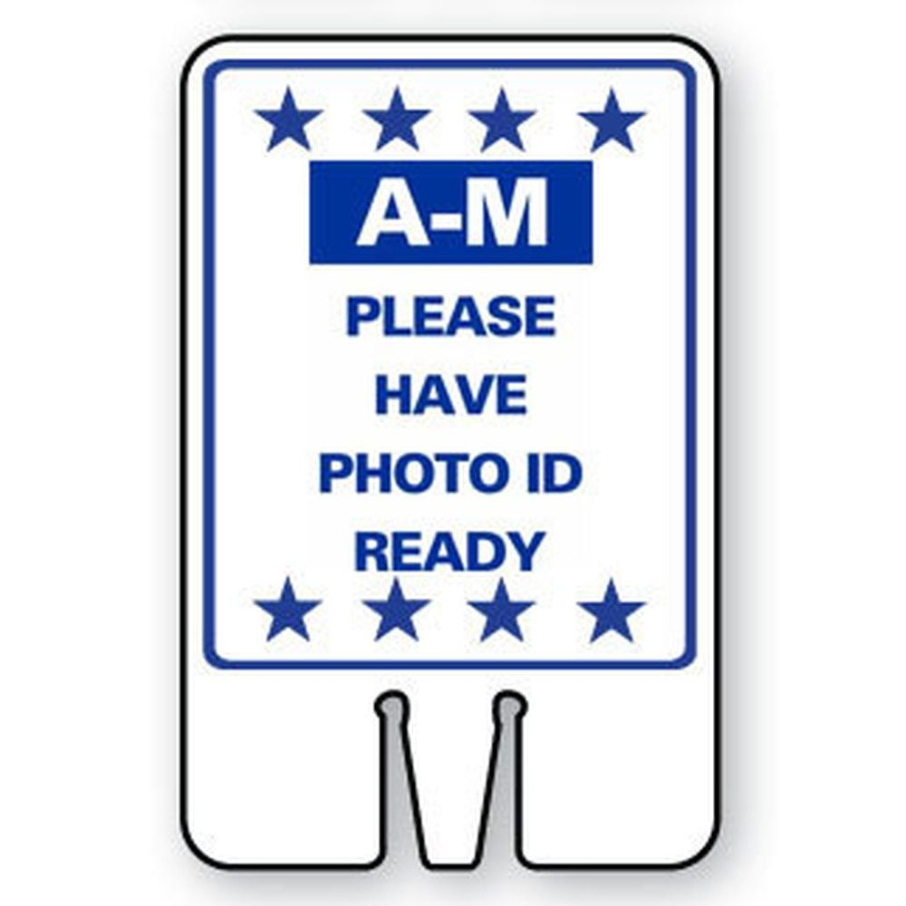 A-M PLEASE HAVE PHOTO ID READY SG-316I1