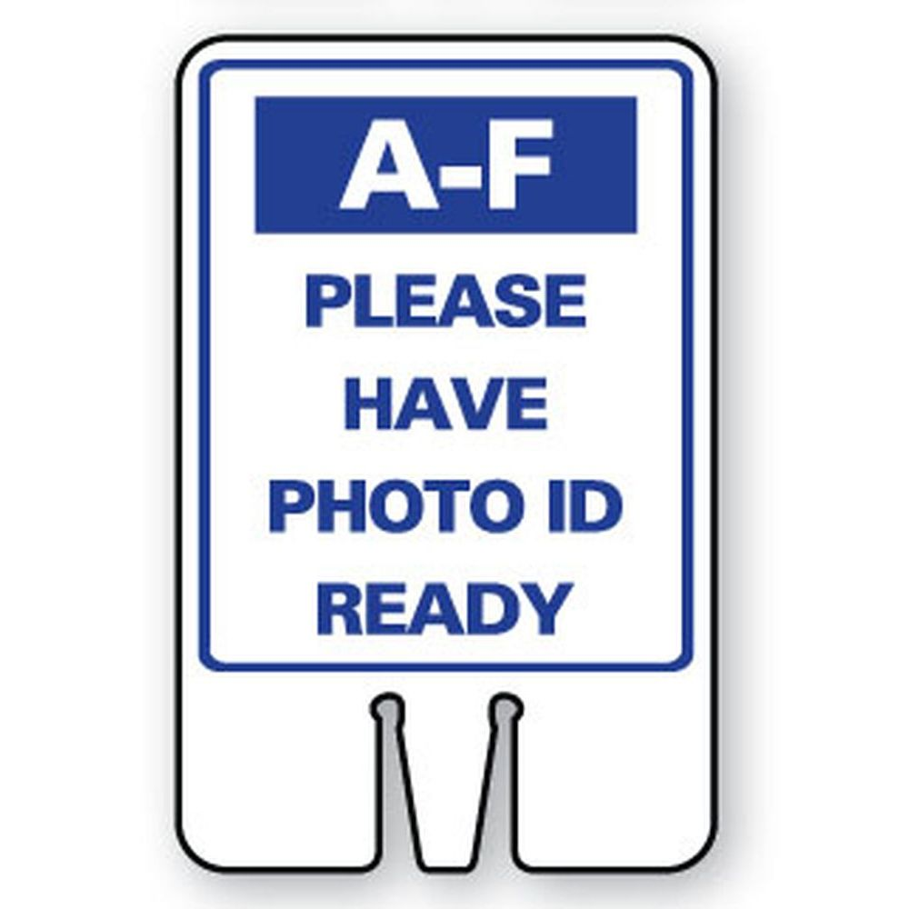 A-F PLEASE HAVE PHOTO ID READY SG-318I2