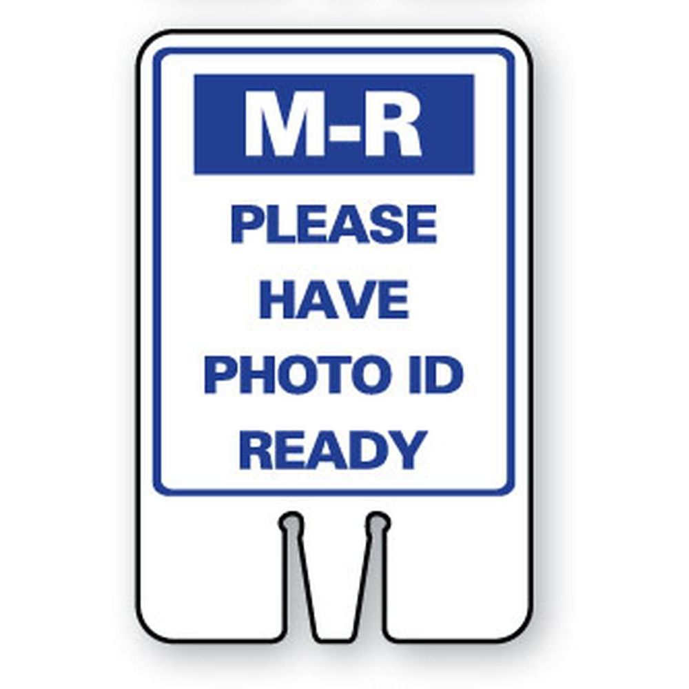 M-R PLEASE HAVE PHOTO ID READY SG-320I1