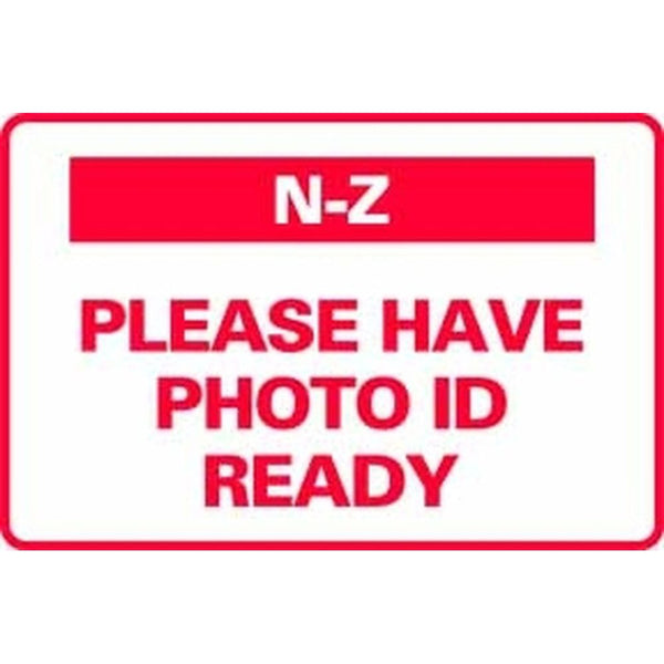 N-Z PLEASE HAVE PHOTO ID READY SG-317D