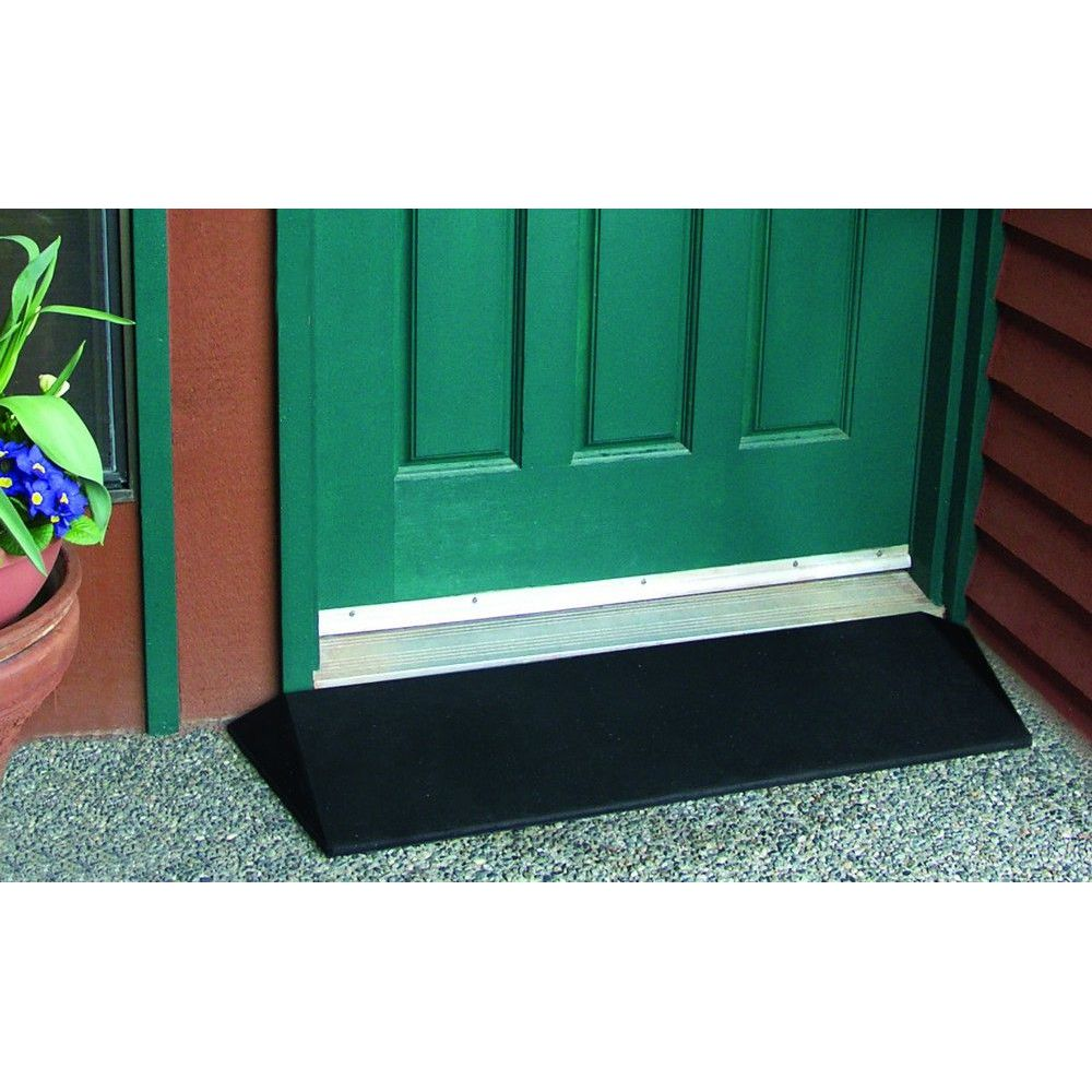 36'' Rubber Threshold Ramp