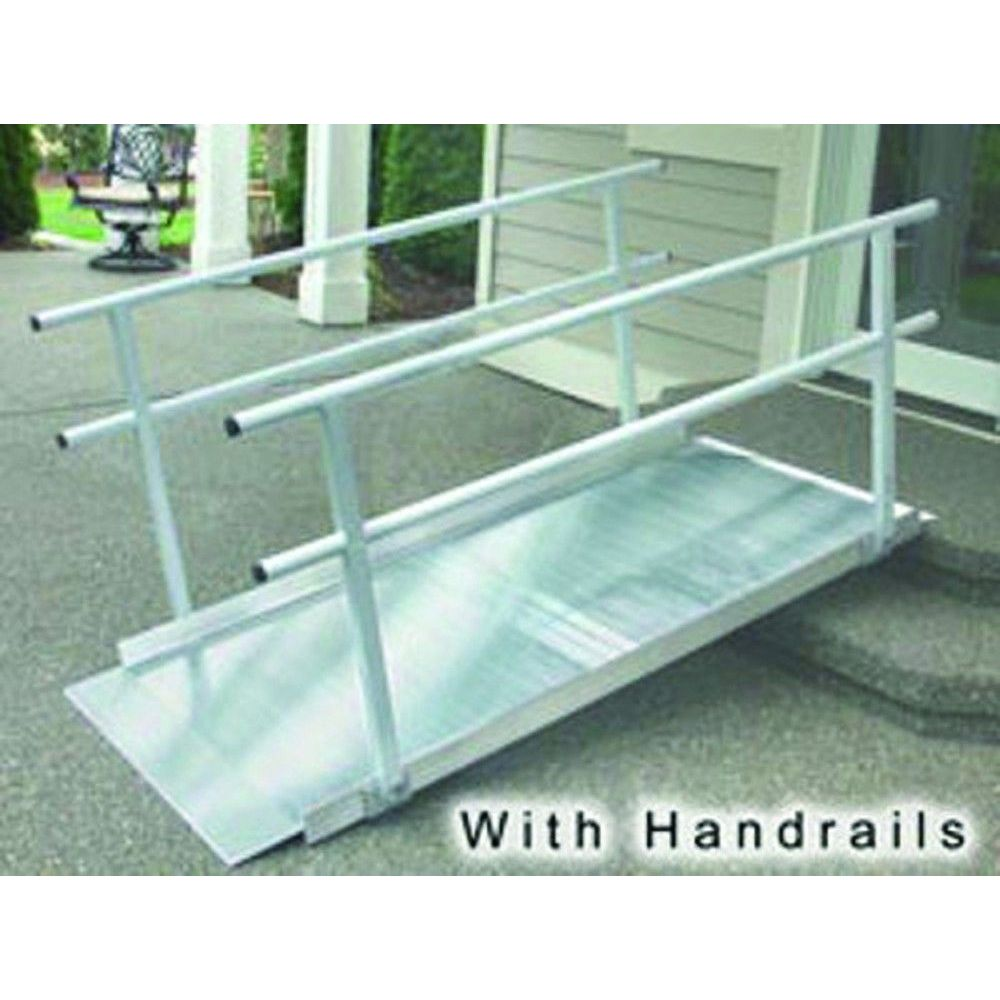 6 Foot Ramp, Pathway Classic Series with Handrails