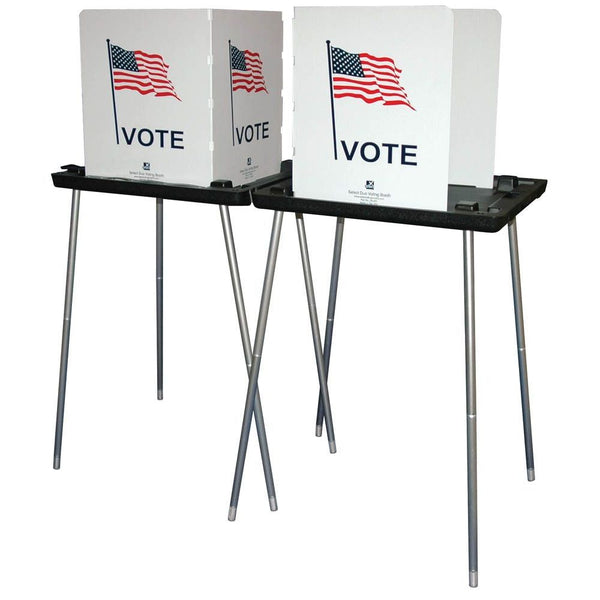 Select Duo Voting Booth, With LED Lights
