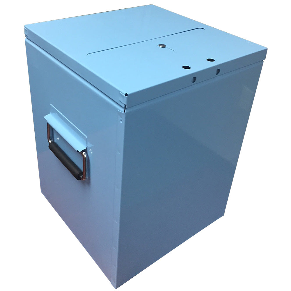 Steel Non-Stuffable Ballot Box 12 x 12 x16