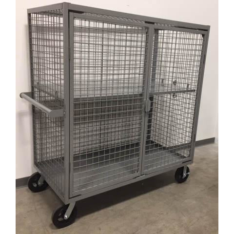 Medium Steel Security Cart