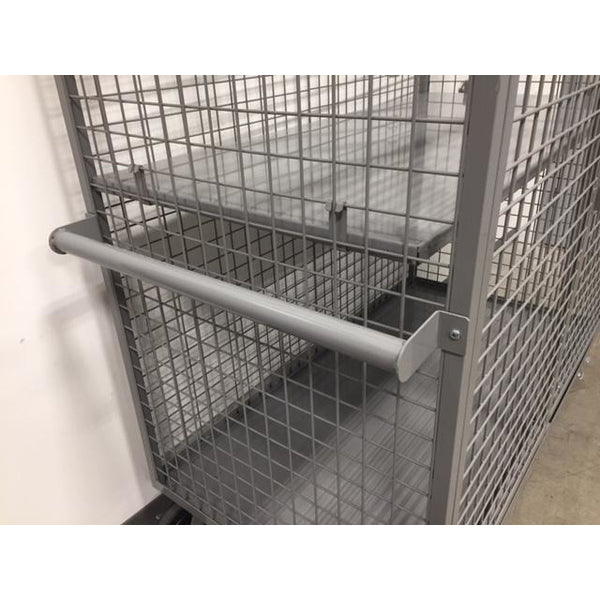 Large Steel Security Cart