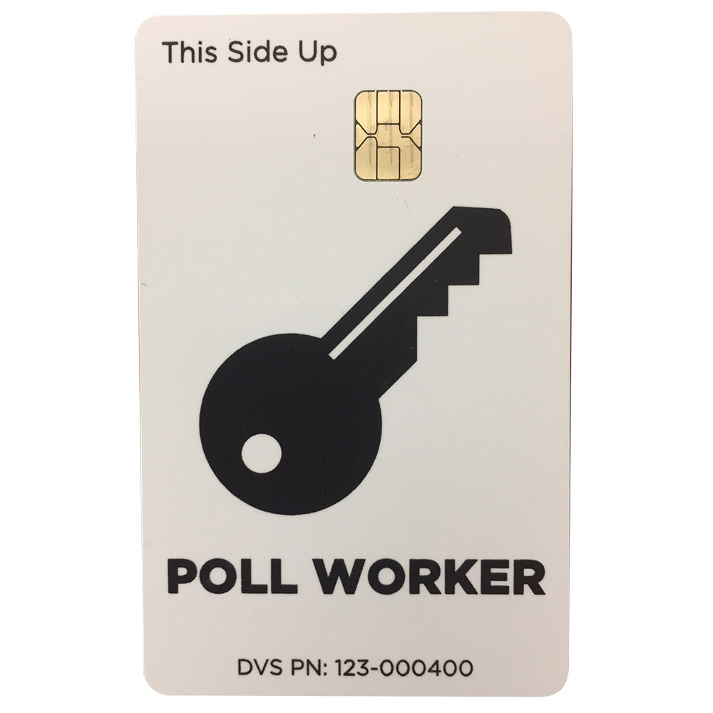 ICX Pollworker Card