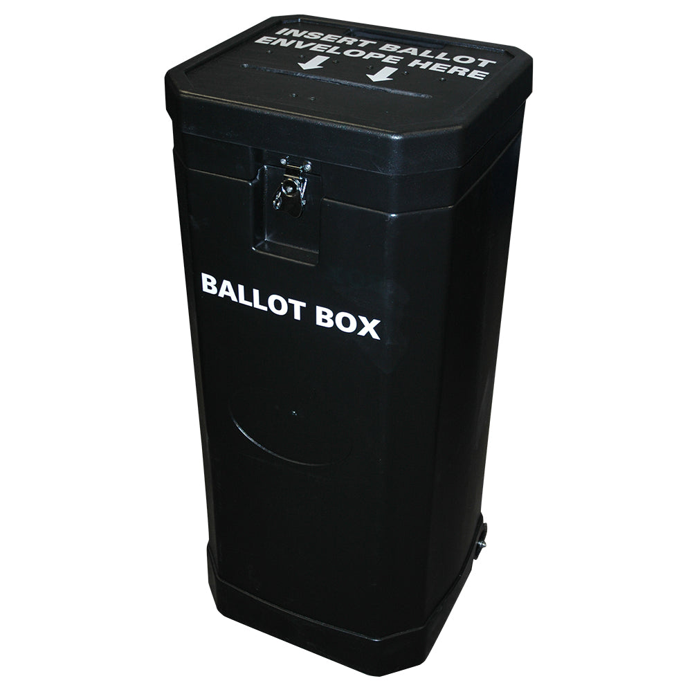 Large Rolling Ballot Box