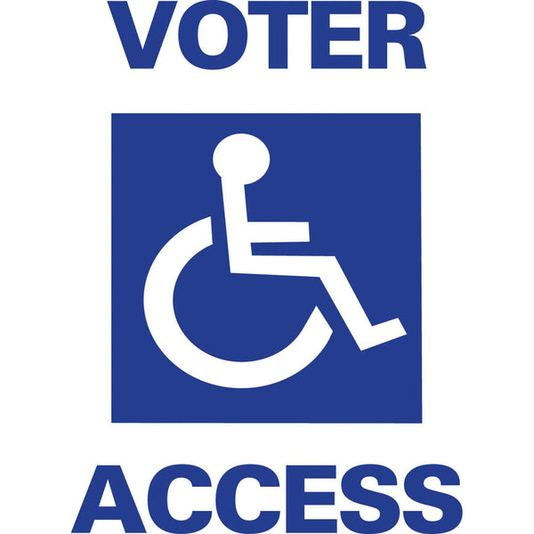 Voter Access Two Sided SG-101A2